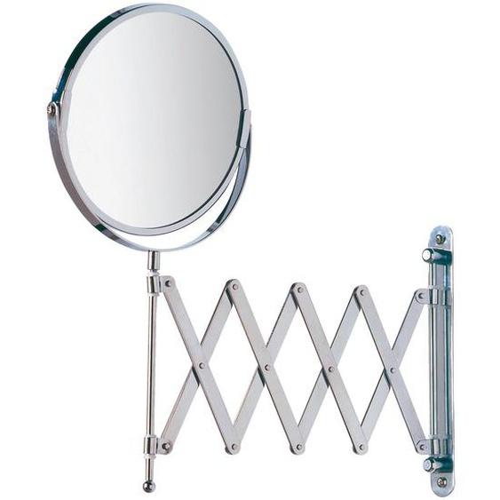 Wenko Kosmetik-Wandspiegel Teleskop Exclusiv Chrom glänzend