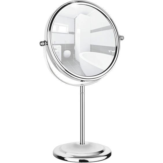Wenko Kosmetikspiegel Silber 31,5 cm x 20 cm x 12 cm