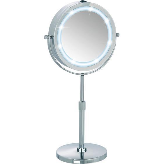 Wenko LED Kosmetik-Standspiegel Lumi