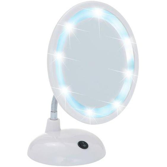 Wenko LED Kosmetik-Standspiegel Style Weiß