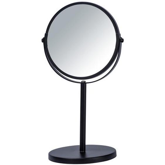 Wenko Standspiegel Assisi schwarz ø 17 cm