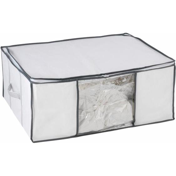 WENKO Unterbettkommode 65x50x27 cm farblos Kleideraufbewahrung Aufbewahrung Ordnung Wohnaccessoires Aufbewahrungsboxen