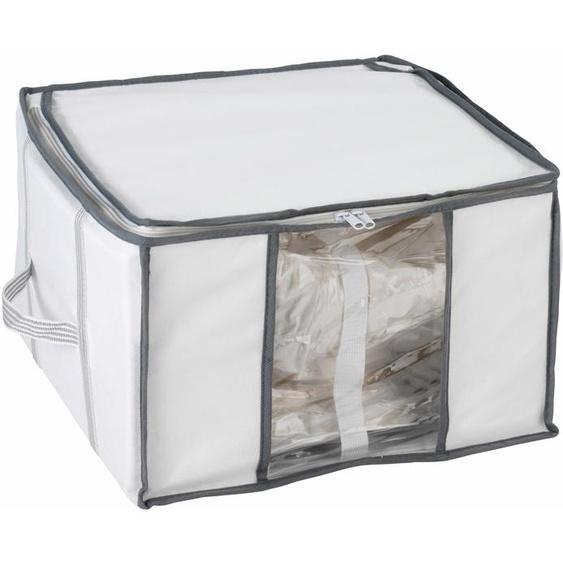 WENKO Unterbettkommode, Platzersparnis durch Vakuum 40x42x25 cm farblos Aufbewahrung Ordnung SOFORT LIEFEERBAR Diele Flur Aufbewahrungsboxen