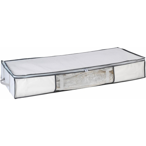 WENKO Unterbettkommode, Vakuum-Softbox B/H/T: 105 cm x 15 45 farblos Körbe Boxen Regal- Ordnungssysteme Küche Ordnung Unterbettkommode