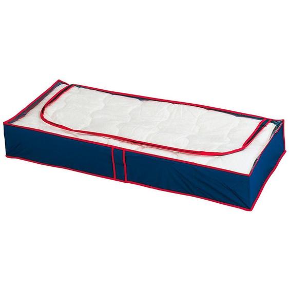 WENKO Unterbettkommode »WENKO Unterbettkommode Blau-Rot, 8er Set« (Set, 8 Stück), blau-rot