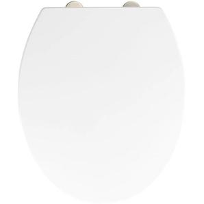 WENKO WC-Sitz Birori, aus Duroplast, mit Absenkautomatik Einheitsgröße weiß WC-Sitze WC Bad Sanitär
