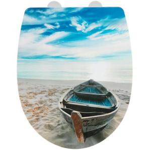 Wenko WC-Sitz Boat, Thermoplast, high gloss