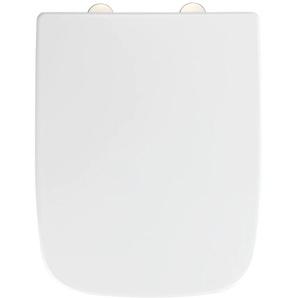 WENKO WC-Sitz Exclusive Nr. 8, aus Duroplast, mit Absenkautomatik Einheitsgröße weiß WC-Sitze WC Bad Sanitär
