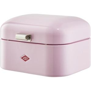 WESCO Brotkasten  Single Grandy | rosa/pink | Stahlblech | 28 cm | 17 cm |