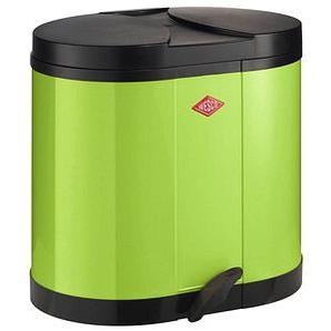WESCO Mülltrenner 2x 15,0 l grün