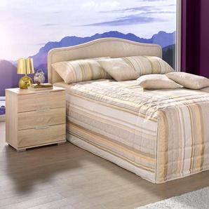 Westfalia Schlafkomfort Polsterbett, beige, 160/200 cm, Liegehöhe 45 cm