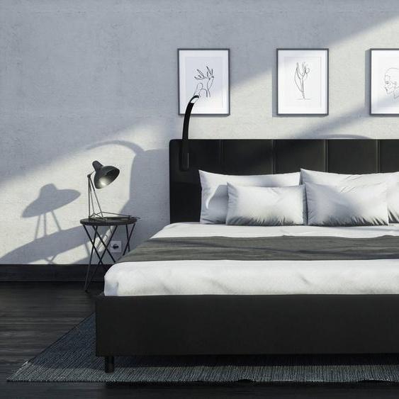 Westfalia Schlafkomfort Polsterbett, mit LED-Beleuchtung