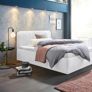Westfalia Schlafkomfort Polsterbett, weiß, 140/200 cm