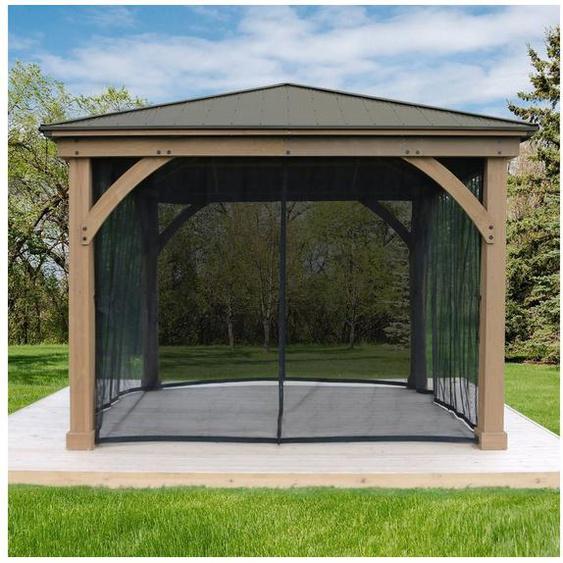 WESTMANN Pavillonseitenteile, mit 4 Seitenteilen, für Holzpavillon »Devon 12x12«