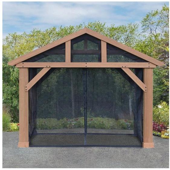 WESTMANN Pavillonseitenteile, mit 4 Seitenteilen, für Holzpavillon »Yukon 14x12«