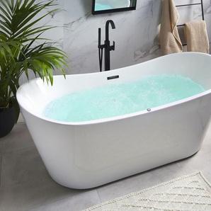 Whirlpool-Badewanne mit LED freistehend ANTIGUA