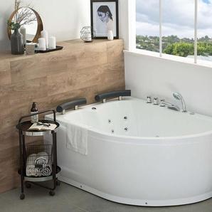 Whirlpool-Badewanne Eckmodell rechts PARADISO