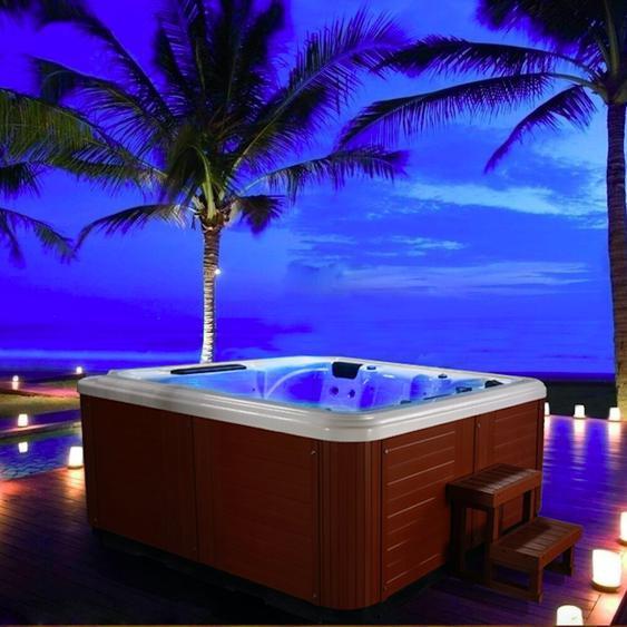 Whirlpool Byler mit 32 Düsen für 5 Personen mit MP3 und LED-Beleuchtung