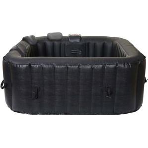 Whirlpool HHG-351, 4 Personen In-/Outdoor heizbar aufblasbar 150x150cm FI-Schalter + Zubehör