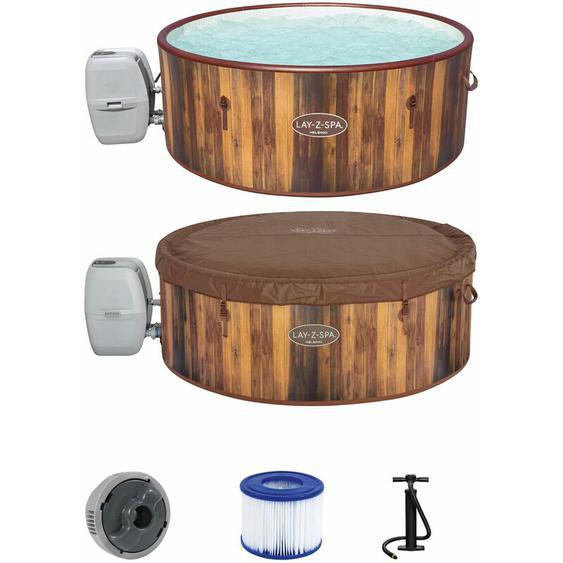 Whirlpool Lay-Z-Spa™ Helsinki | Frostwächter | Innen Ø 170 cm | Thermo Abdeckung | Massage AirJet™ Pool aufblasbar - Bestway