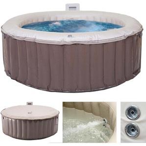 Whirlpool MSpa HWC-A62, 4 Personen In-/Outdoor Massage heizbar aufblasbar  180cm FI-Schalter