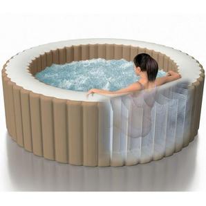 Intex 28426 ex 28404 Whirlpool Pure SPA Bubble Massage aufblasbarer rundes Becken 196x71