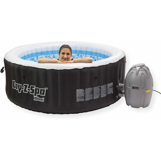 Lay-z-spa - Whirlpool Spa 800 Miami Spa Pool Massage Swimmingpool aufblasbar