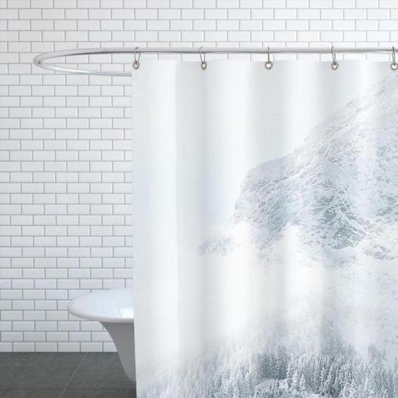 White Mountain 1 - Duschvorhang