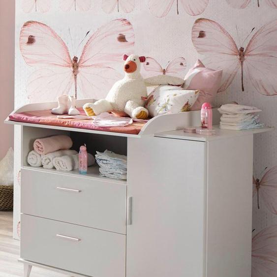 Wickelkommode, Nizza B/H/T: 116/98/79 cm weiß Baby Wickelkommoden wickeln