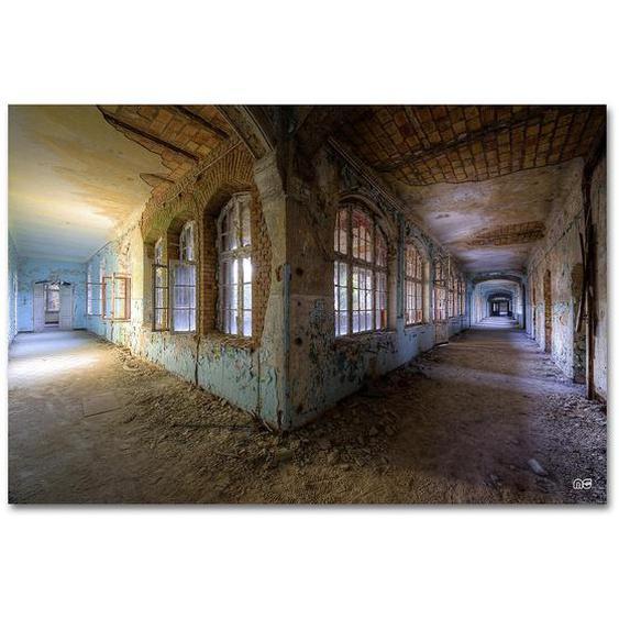 Wiedemann Bild Architektur Love AT First Sight , Mehrfarbig , Metall, Kunststoff , 120x80 cm