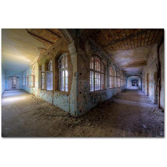 Wiedemann Bild Architektur Love at first sight , Mehrfarbig , Metall, Kunststoff , 150x100 cm
