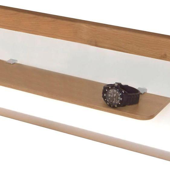 WIEMANN Aufsatzpaneel Bari, wahlweise mit LED-Beleuchtung 60x15,5x25,5 cm, Mit beige Verblendsteine Paneele Bauen Renovieren Möbelaufsätze