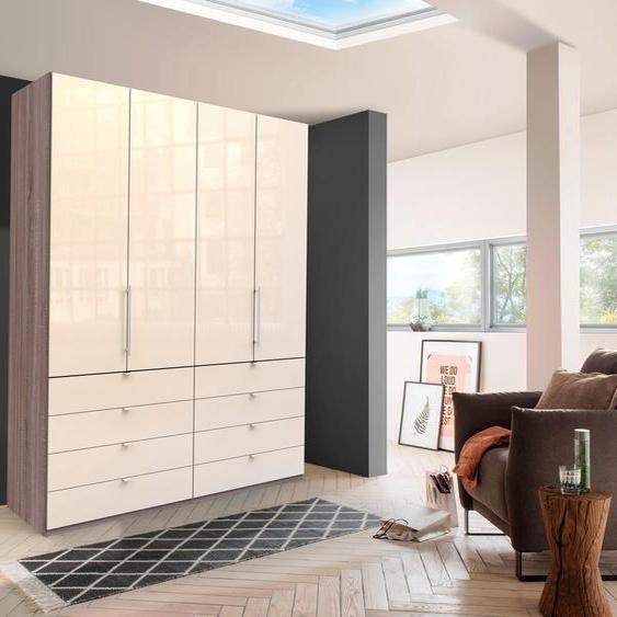 WIEMANN Falttürenschrank Loft 200 x 236 58 (B H T) cm, 4-türig beige Drehtürenschränke Kleiderschränke Schränke