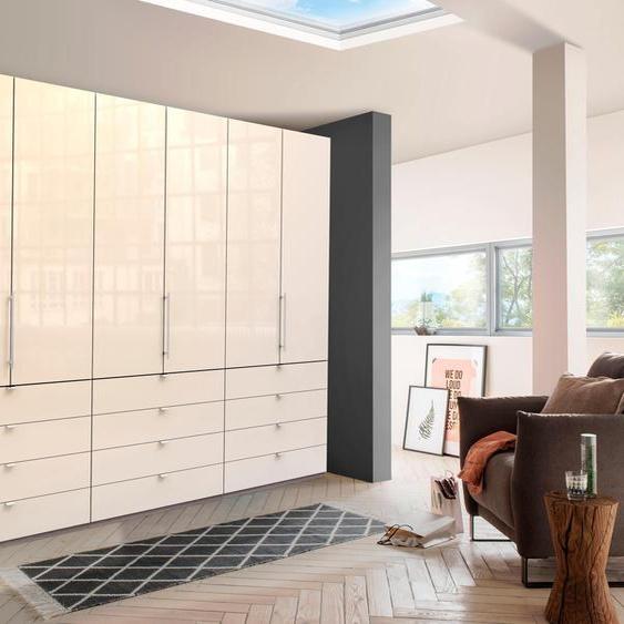 WIEMANN Falttürenschrank Loft 300 x 236 58 (B H T) cm, 6-türig beige Drehtürenschränke Kleiderschränke Schränke