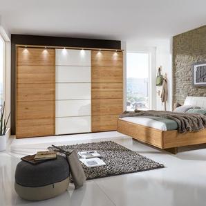 Wiemann Schlafzimmer-Set, Eiche, Holz 250 x 217 cm