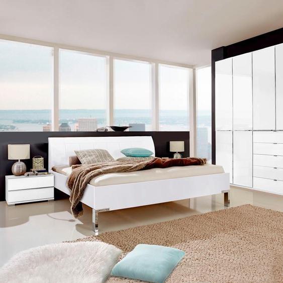 WIEMANN Schlafzimmer-Set Shanghai (Set, 4-tlg) Einheitsgröße weiß Komplett Schlafzimmer Betten Schlafzimmermöbel-Sets