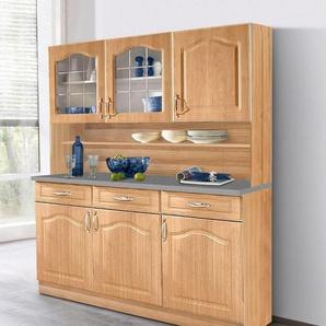 Kuchenschrank landhausstil weiss for Ordnung im kuchenschrank