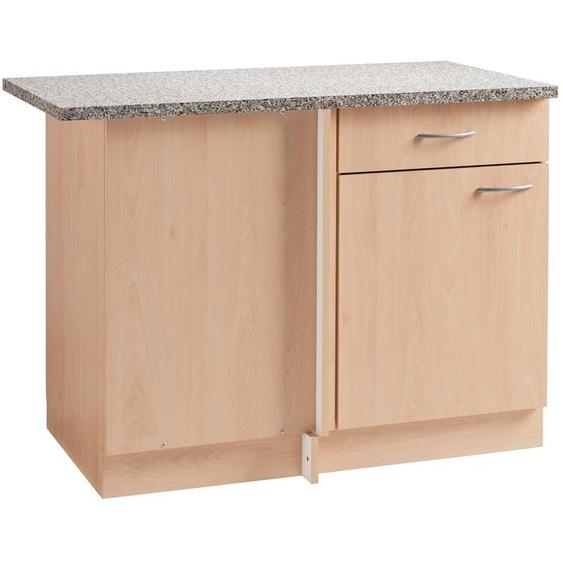 wiho Küchen Eckunterschrank »Kiel« 110 cm breit