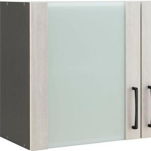 wiho Küchen Glashängeschrank »Esbo« Front mit Glaseinsatz