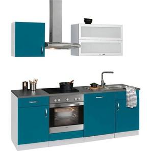wiho Küchen Küchenzeile »Amrum«, mit E-Geräten, Breite 220 cm