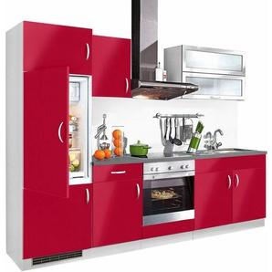 Küchenzeile »Amrum«, Breite 270 cm in vielen verschiedenen Farben