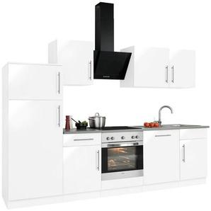 WIHO-Küchen Küchenzeile »Cali« mit E-Geräten, Breite 280 cm