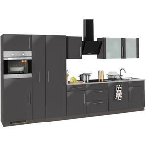 WIHO-Küchen Küchenzeile »Cali« mit E-Geräten, Breite 360 cm