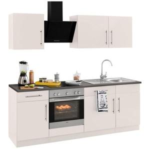 Küchenzeile »Cali« ohne E-Geräte, Breite 220 cm