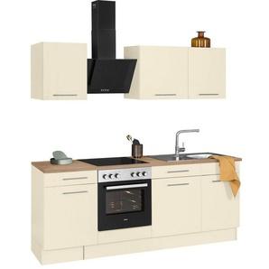 wiho Küchen Küchenzeile »Ela«, ohne E-Geräte, Breite 220 cm