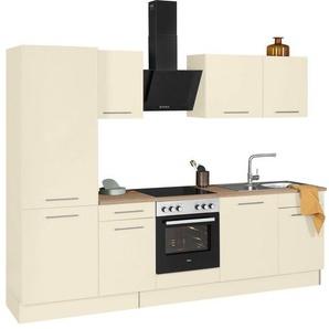 wiho Küchen Küchenzeile »Ela«, ohne E-Geräte, Breite 280 cm