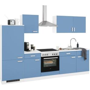 wiho Küchen Küchenzeile »Husum«, mit E-Geräten, Breite 280 cm