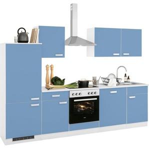 wiho Küchen Küchenzeile »Husum«, ohne E-Geräte, Breite 280 cm