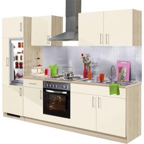 wiho Küchen Küchenzeile »Kiel«, mit E-Geräten, Breite 270 cm