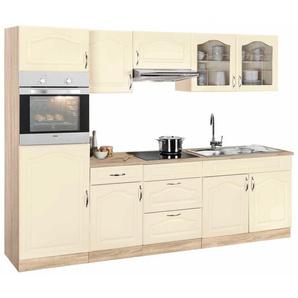 Wiho »Linz« Küchenzeile mit E-Geräten, Breite 270 cm